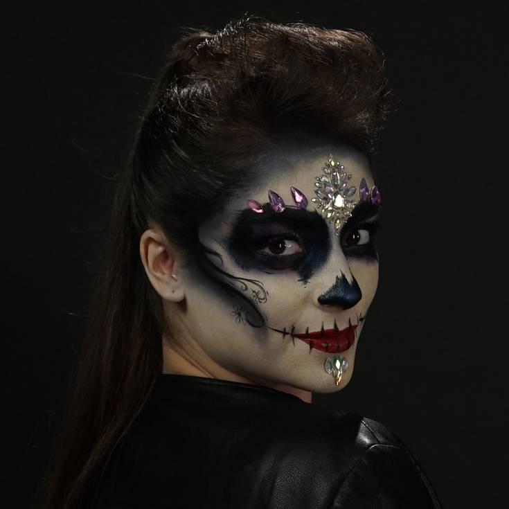 Maquillaje De Catrina Paso A Paso Para Hacerlo Tu Misma